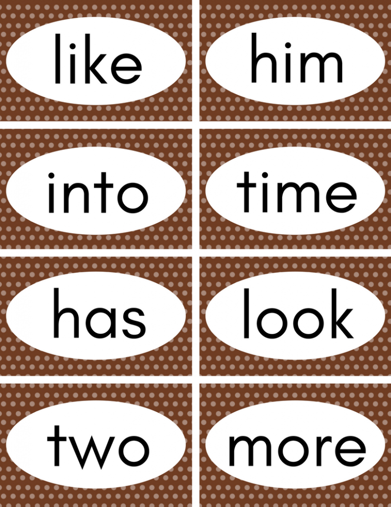 Free Printable Sight Word Flash Cards | Educational | Pinterest | Sight Words Flash Cards Printable