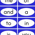 Free Printable Sight Word Flash Cards | Teacher | Sight Word | Sight Words Flash Cards Printable