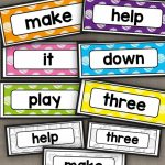 Free Printable Sight Words Flash Cards   Pre Primer!#sightwords | Nonsense Word Flash Cards Printables