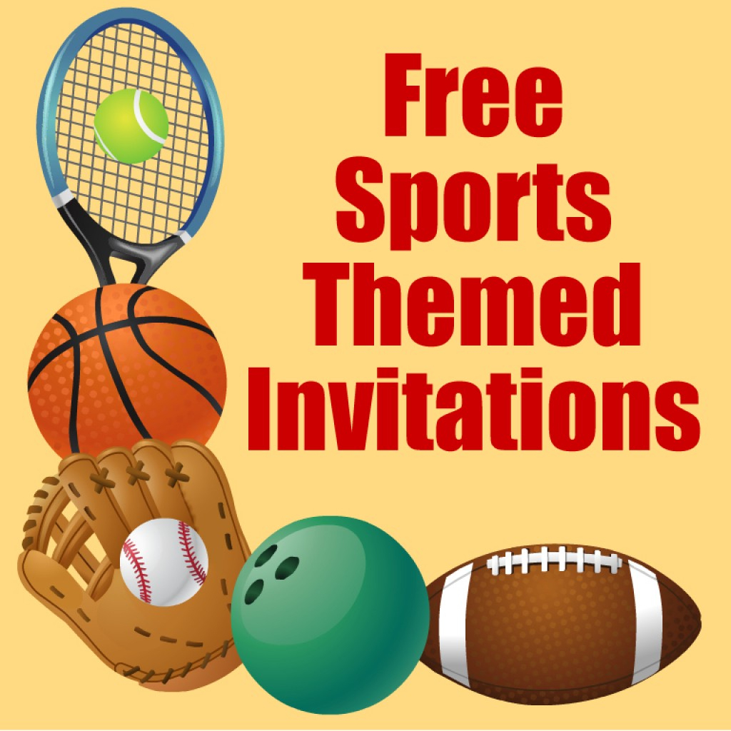 Free Printable Sports Birthday Party Invitations Templates | Hubpages | Printable Sports Birthday Cards