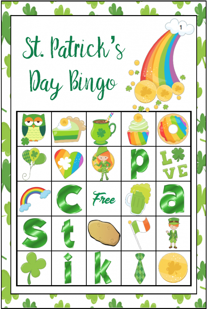 Free Printable St. Patrick's Day Bingo: 40 Cards | Printable Mothers Day Bingo Cards