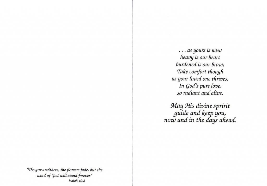 Free Printable Sympathy Cards - Masterprintable | Free Printable Sympathy Cards