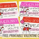 Free Printable Teacher Valentine Cards   A Teachable Teacher | Printable Valentine Cards For Teachers