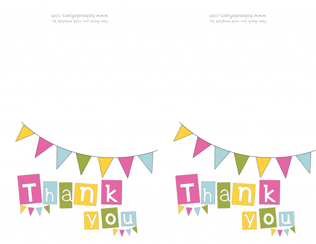 Free Printable Thank You Cards | Bake Sale Flyers – Free Flyer Designs | Printable Thank You Cards Pdf