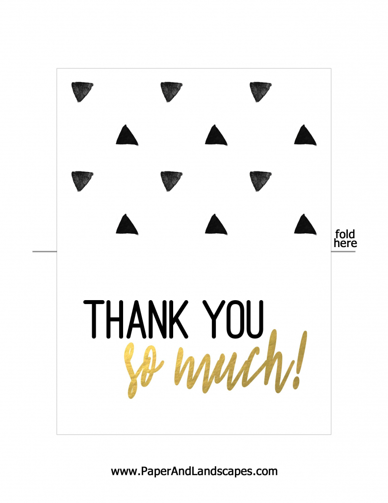 Free Printable Thank You Cards | Messenges - Free Printable Thank | Free Printable Thank You Cards