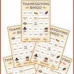 Free Printable Thanksgiving Bingo Cards | Catch My Party | Turkey Bingo Cards Printable