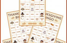 Free Printable Thanksgiving Bingo Cards | Catch My Party | Turkey Bingo Cards Printable