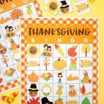 Free Printable Thanksgiving Bingo Cards   Happiness Is Homemade | Turkey Bingo Cards Printable
