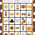 Free Printable Thanksgiving Bingo Game | Craft Time | Christmas | Turkey Bingo Cards Printable