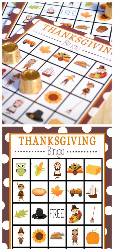 Free Printable Thanksgiving Bingo Game | Do It Yourself | Turkey Bingo Cards Printable