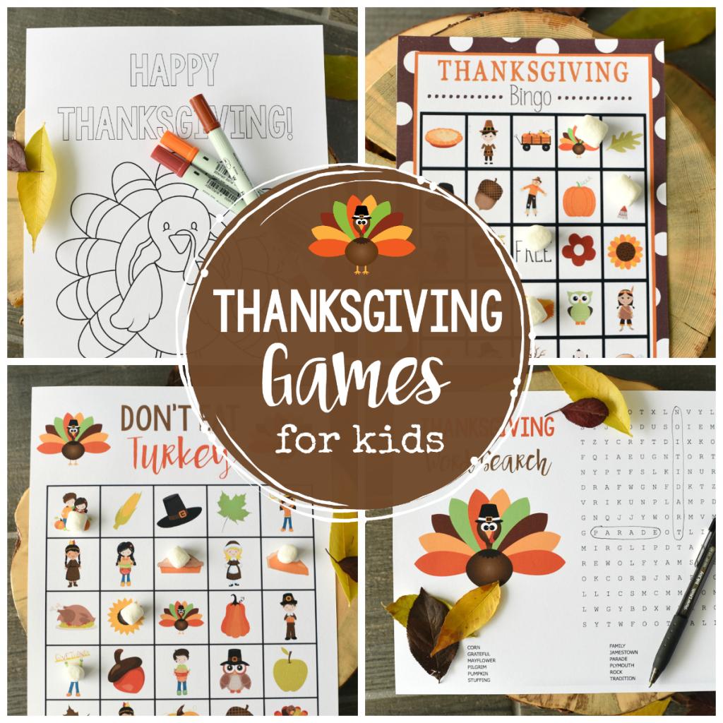 Free Printable Thanksgiving Bingo Game – Fun-Squared | Turkey Bingo Cards Printable