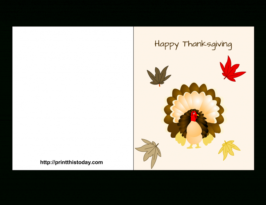 Free Printable Thanksgiving Cards | Printable Thanksgiving Cards For Kids