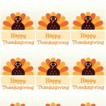 Free Printable Thanksgiving Place Cards    Also Great For Cupcake | Printable Thanksgiving Place Cards
