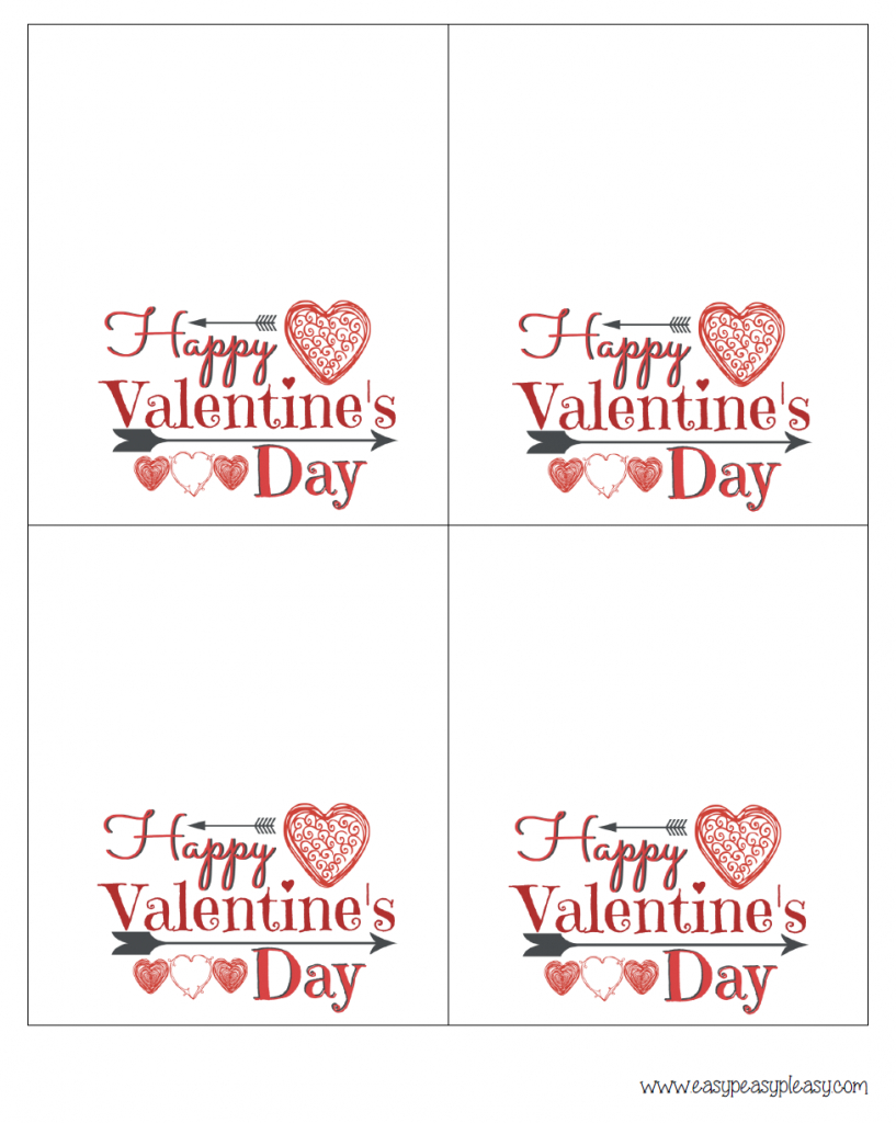 Free Printable Valentine Cards For Husband - Printable Cards | Printable Valentine Cards For Husband