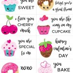 Free Printable Valentine Cards For Kids   Sarah Titus | Valentine Free Printable Cards