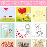 Free Printable Valentine Cards | Free Printable Valentines Day Cards For Her