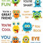 Free Printable Valentine Cards   Sarah Titus | Free Printable Valentine Cards For Preschoolers