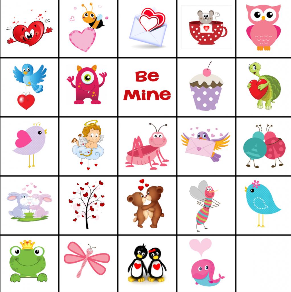 Free Printable Valentine Memory Game | Free Printable Matching Cards