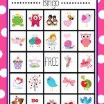 Free Printable Valentine's Day Bingo Game   Valentine's Day   Printable Valentine Bingo Cards With Numbers