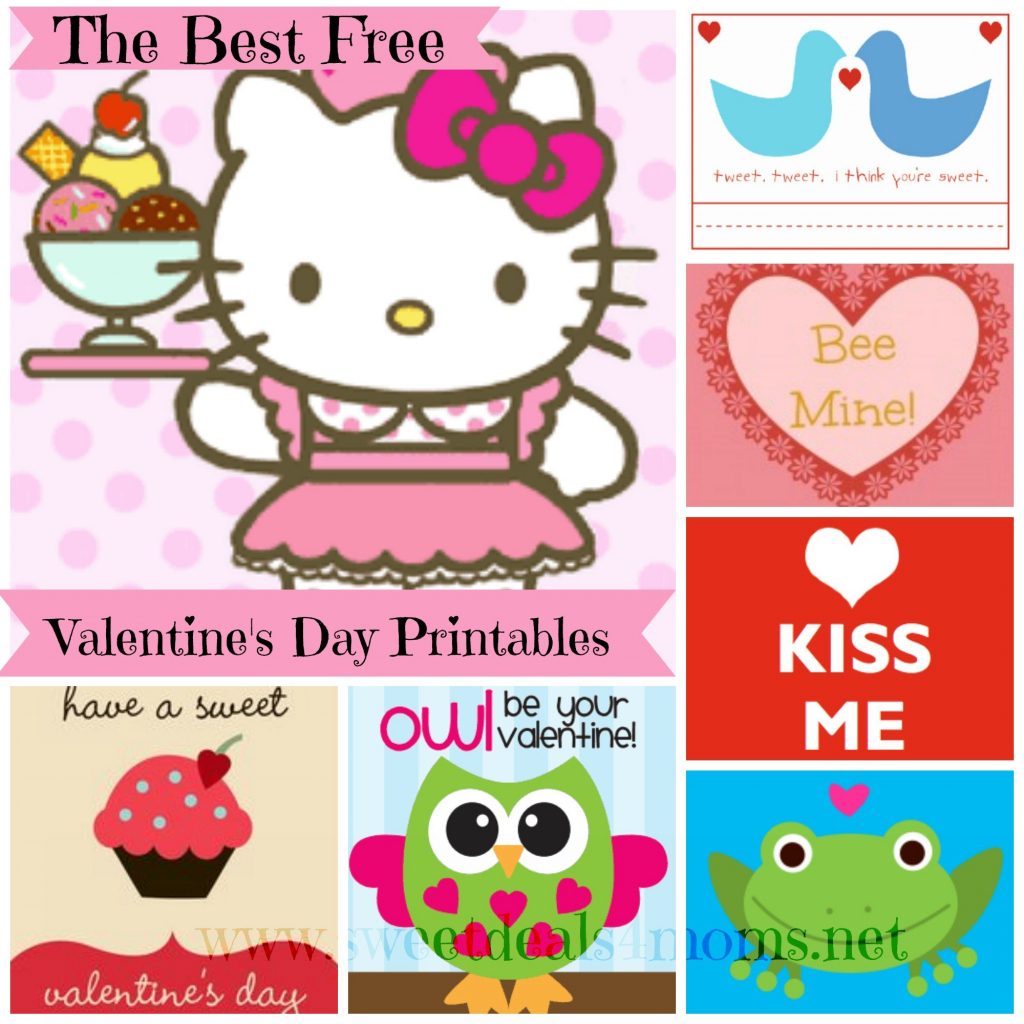Free Printable Valentines Day Card Roundup - Sweet Deals 4 Moms | Free Printable Valentines Day Cards For Mom And Dad