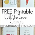 Free Printable Valentine's Day Cards And Gift Tags | Reindeer | Printable Valentine Cards For Husband