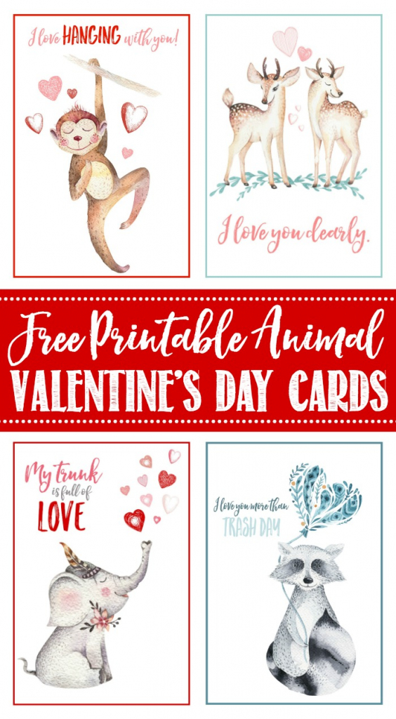 Free Printable Valentine's Day Cards And Tags - Clean And Scentsible | Happy Valentines Day Cards Printable