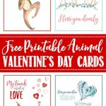 Free Printable Valentine's Day Cards And Tags | Holiday | Free Printable Valentines Day Cards Kids