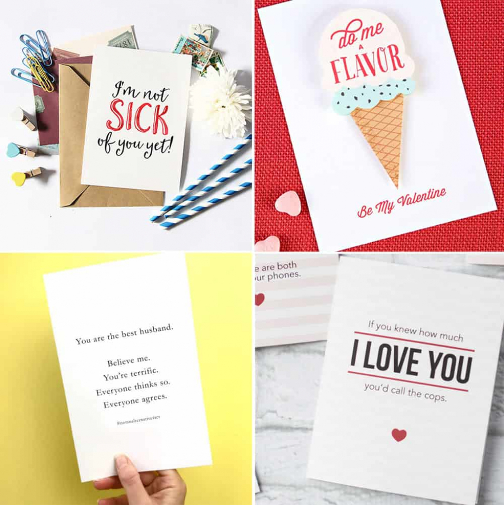 Free Printable Valentine's Day Cards | Printable Valentines Day Cards For Husband