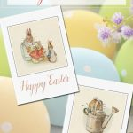 Free Printable Vintage Easter Cards | Bloggers' Fun Family Projects | Printable Easter Greeting Cards Free