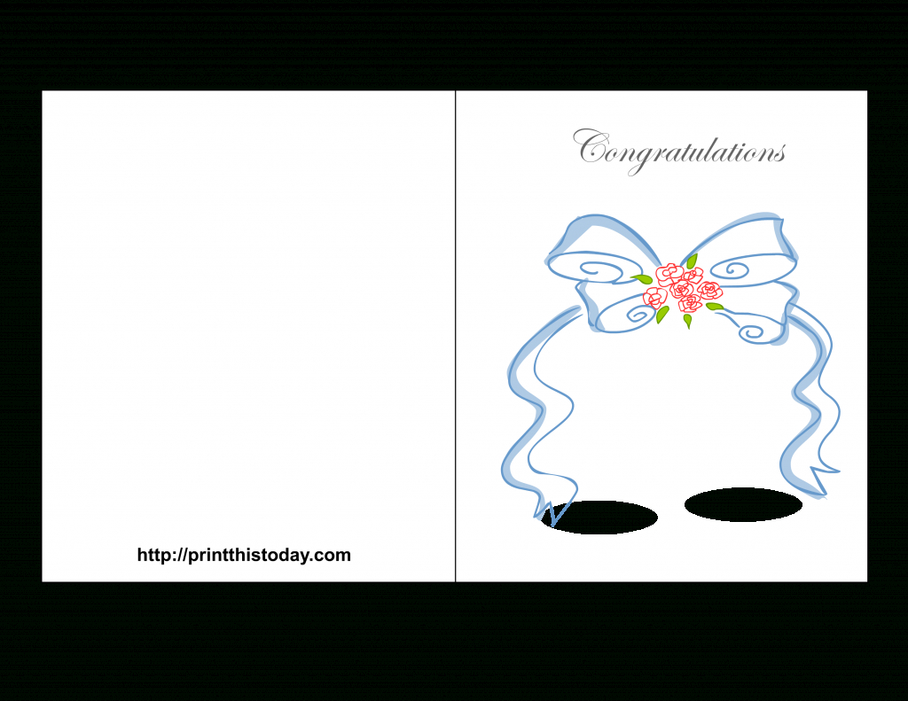 Free Printable Wedding Congratulations Cards | Free Printable Wedding Shower Greeting Cards