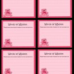 Free Printable Words Of Wisdom Game For Baby Shower | Free Mommy Advice Cards Printable