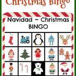 Free Printables: Bilingual Christmas Bingo | Christmas Play | Free Printable Spanish Bingo Cards