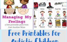 Picture Cards For Autism Printable