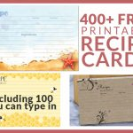 Free Recipe Cards   Cookbook People | Free Printable Photo Cards 4X6