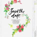 Free Save The Date Birthday Templates   Kleo.bergdorfbib.co   Printable Save The Date Birthday Cards