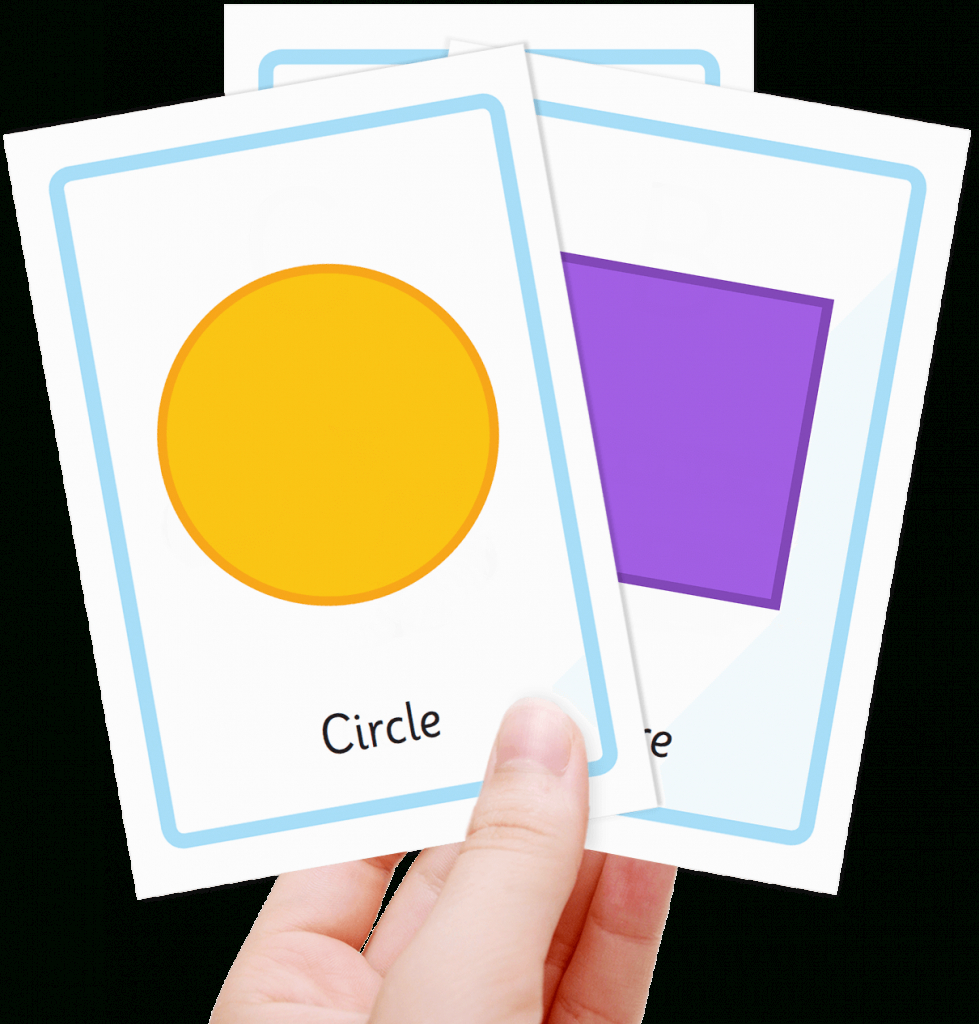 Free Shape Flashcards For Kids - Totcards | Printable Shapes Flash Cards