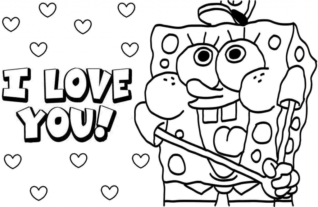 Free Spongebob Valentine Cliparts, Download Free Clip Art, Free Clip | Spongebob Valentine Cards Printable