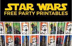 Star Wars Printable Cards Free