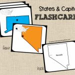Free State Capitals Game | Cc: Misc | Pinterest | States And | State Capitals Flash Cards Printable