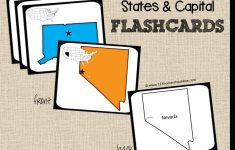 State Capitals Flash Cards Printable