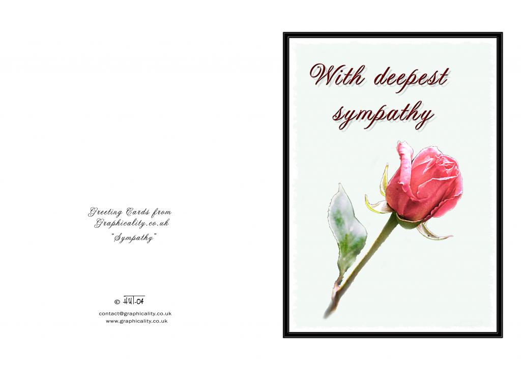 Free Sympathy Cards To Print - Kleo.bergdorfbib.co | Free Printable Sympathy Cards