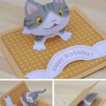 Free Templates   Kagisippo Pop Up Cards 2 | Pop Up Cards | Pop Up | Free Printable Pop Up Birthday Card Templates