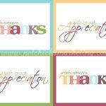 Free Thank You Cards #printable | Digi Freebies | Printable Thank | Thank You For Coming Cards Printable