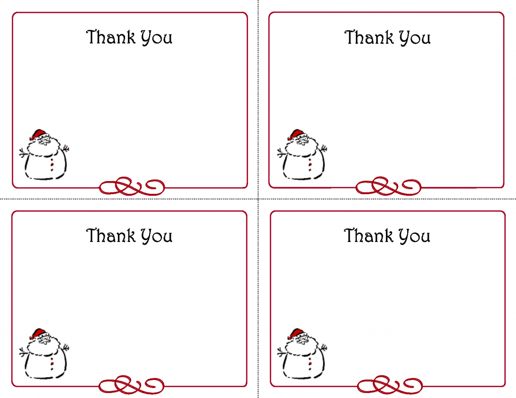Free Thank You Cards Printable | Free Printable Holiday Gift Tags | Printable Christmas Cards For Veterans