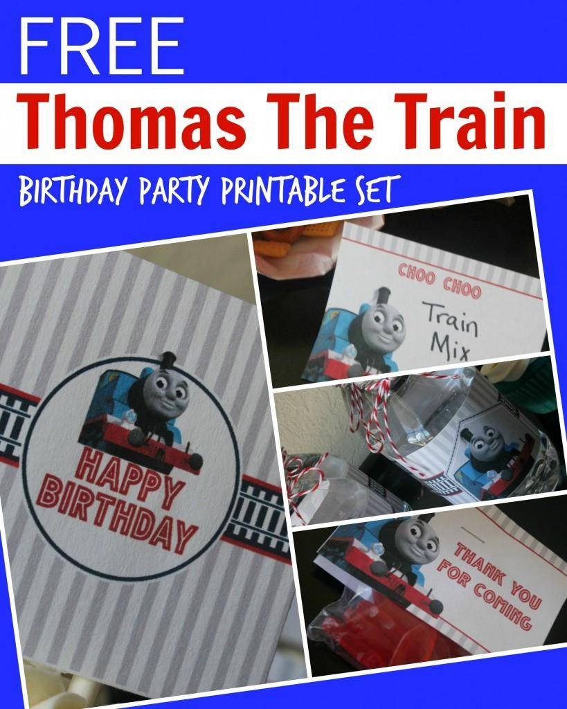 Free Thomas The Train Engine Birthday Party Printables - Passion For | Thomas Thank You Cards Printable
