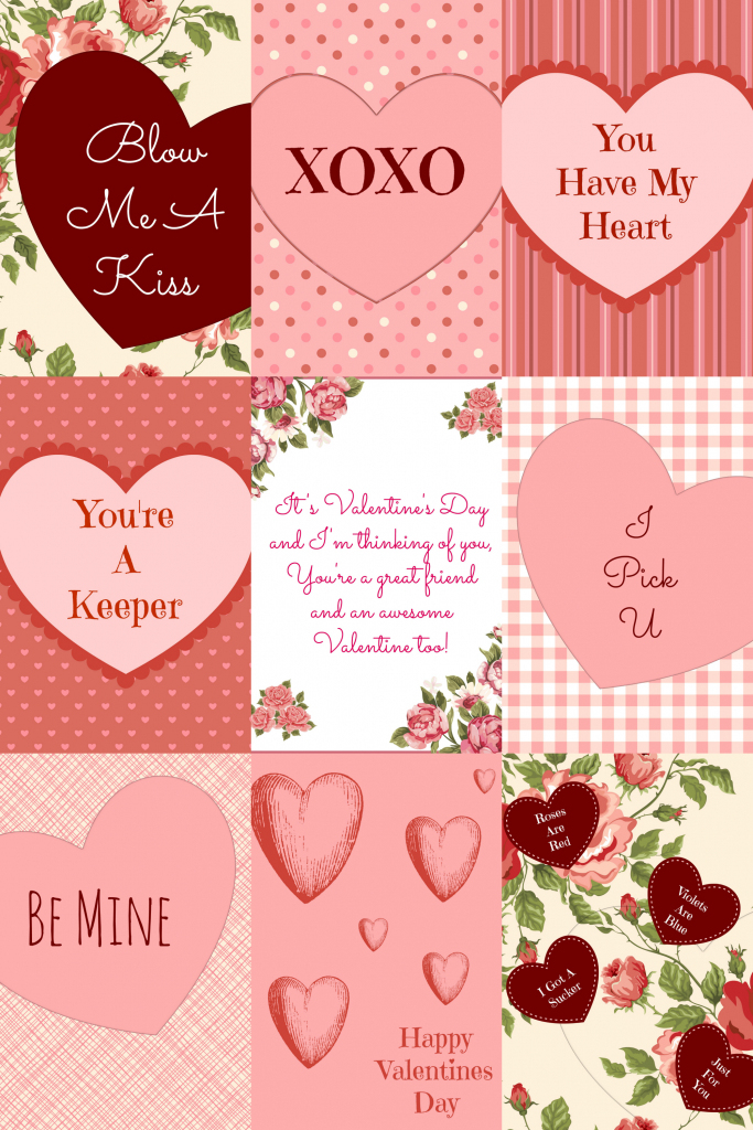 Free Valentine's Day Card Printables - | Valentine Cards For Wife Printable