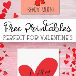 Free Valentine's Day Printable Cards | Free Printable Valentines | Valentine Free Printable Cards