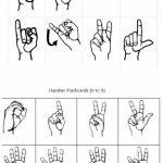 Freebie Friday: Free Printable Asl Alphabet Flashcards Pack | Best | Printable Sign Language Flash Cards