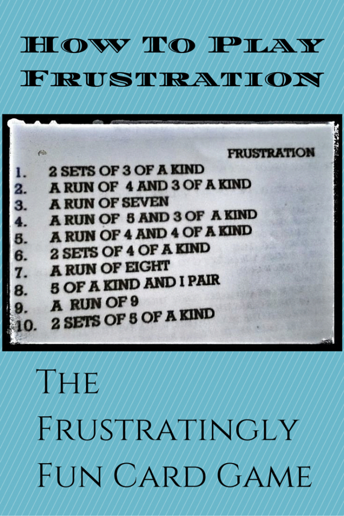 Frustration Card Game Rules - How To Play The Frustratingly Fun Card | Printable Rules For Golf Card Game