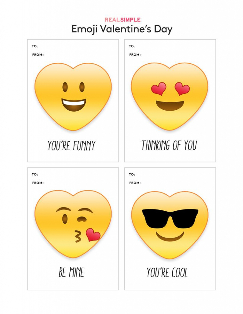Fun (And Free) Printable Valentine's Day Cards To Download | Free Printable Funny Thinking Of You Cards